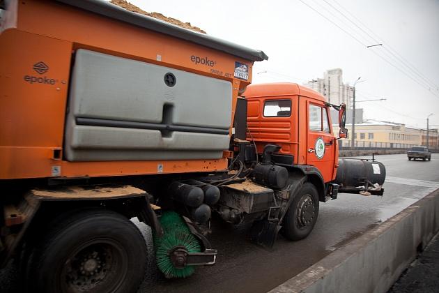 Волгоградские трассы сковал лед