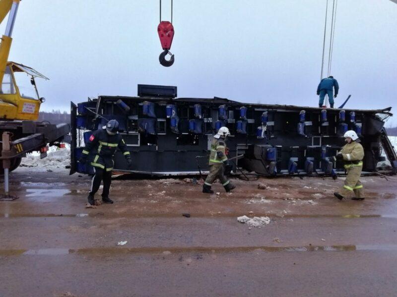СК опубликовал видео с места трагедии в Калужской области