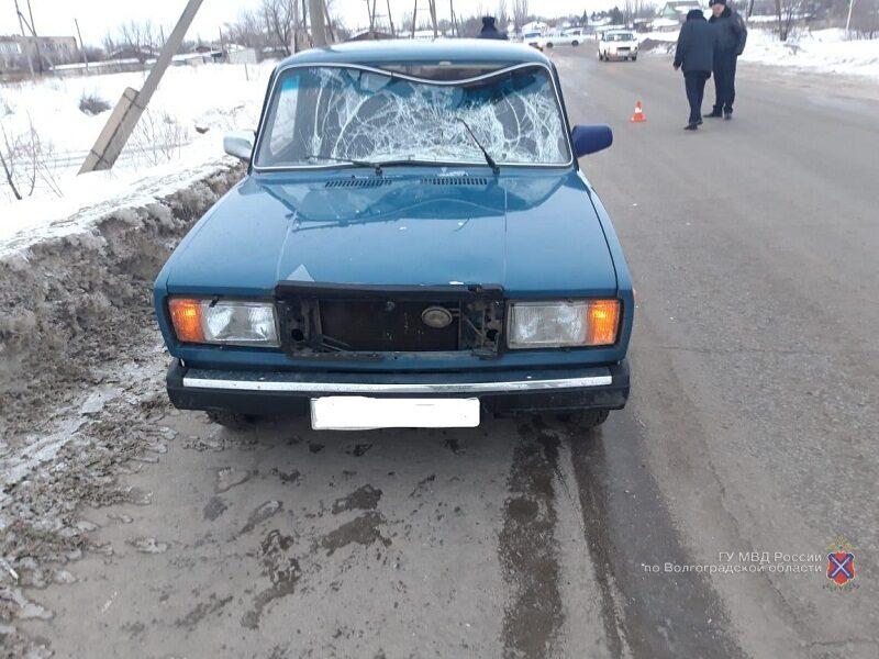 В Ольховке после ДТП с «ВАЗом» погиб пенсионер