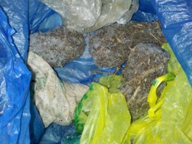 В Палласовском районе в бане полицейские нашли 120 граммов марихуаны