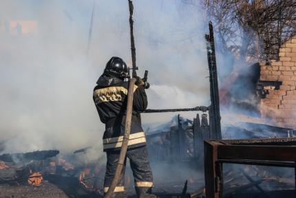 В МЧС обеспокоились ситуацией с пожарами в Волгоградской области