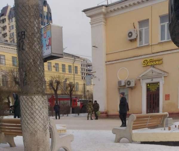 В Волгограде эвакуировали районную администрацию