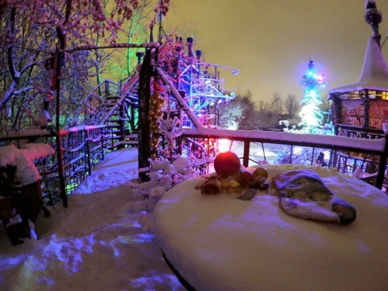 В Москве ночью загорелся байк-клуб Sexton