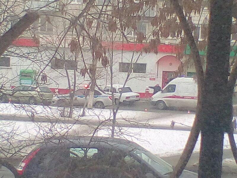 Она выскочила внезапно: В Кировском районе иномарка сбила пенсионерку