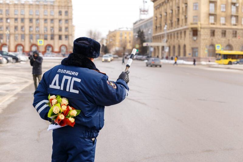На дороги Волгограда выйдет «цветочный патруль»
