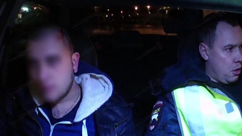 Пьяного водителя задержали в Волжском после погони. ВИДЕО