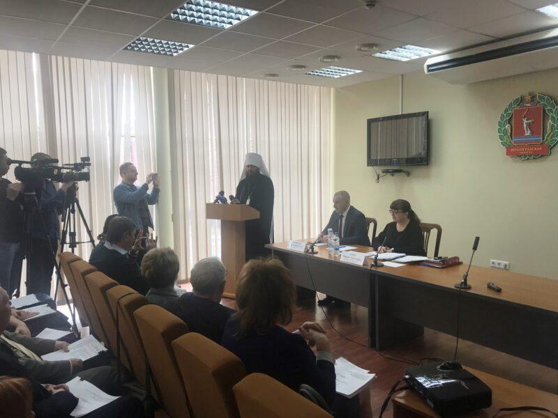 Митрополит Волгоградский и Камышинский Феодор вошёл в состав региональной Общественной палаты