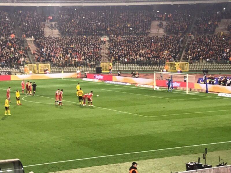 Сборная России по футболу уступила Бельгии со счётом 3:1