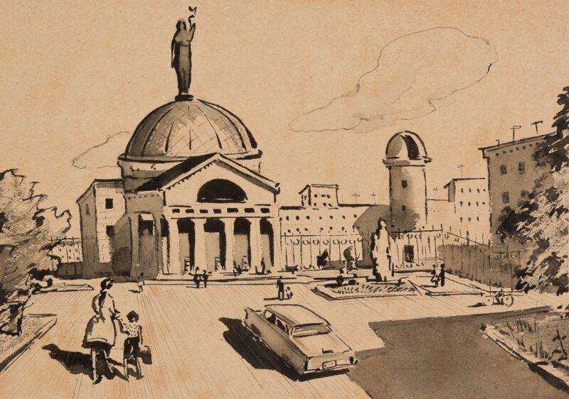 Привет из 50-х: В музее Машкова покажут детские рисунки из найденного чемодана