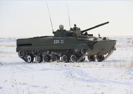 Волгоградские мотострелки вооружились БМП-3М