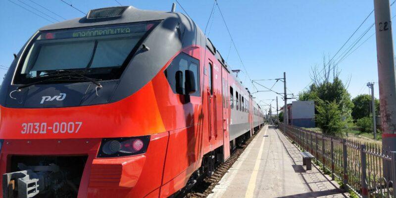 В Волгограде 26 и 27 марта скорректируют расписание электричек