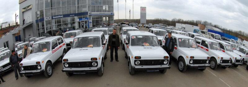Волгоградской области потребовалось несколько десятков новых автомобилей