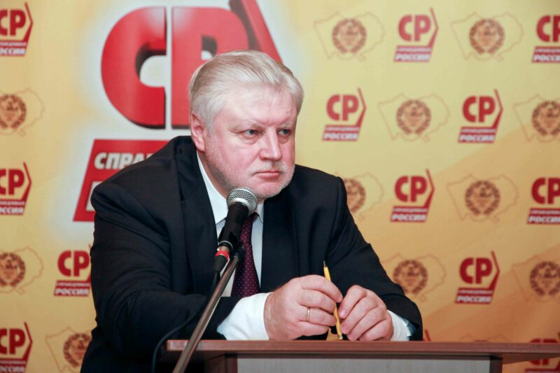 Лидер «справороссов» Сергей Миронов приедет в Волгоград