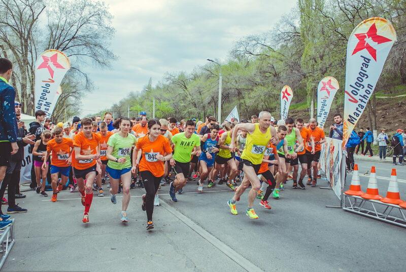 В Волгограде пройдет легкоатлетический забег