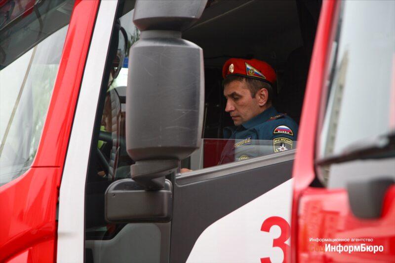 В Волгограде состоялся автопробег пожарной техники