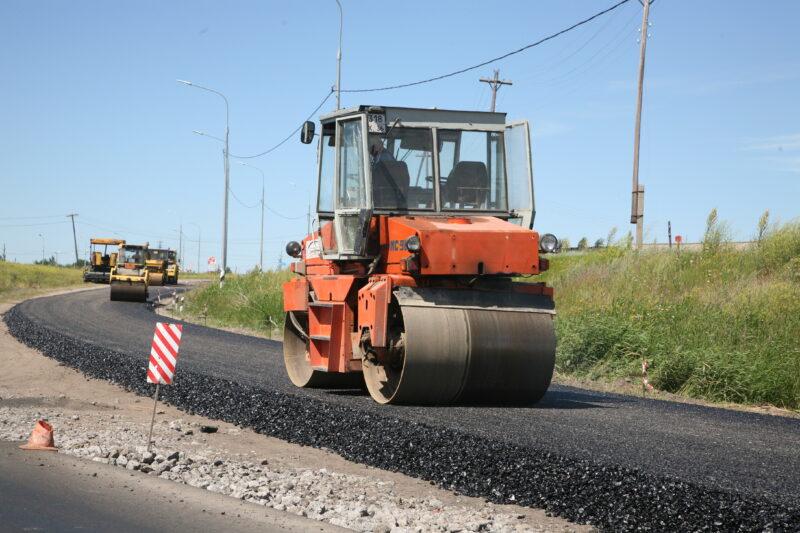 Стала известна стоимость строительства дороги на ул. Хорошева