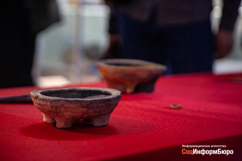 В Волгоградский областной краеведческий музей поступили ценные артефакты с курганного могильника