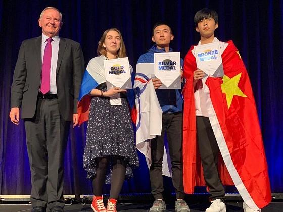 Студентка Волгоградского строительного техникума привезла из Мельбурна золотую медаль