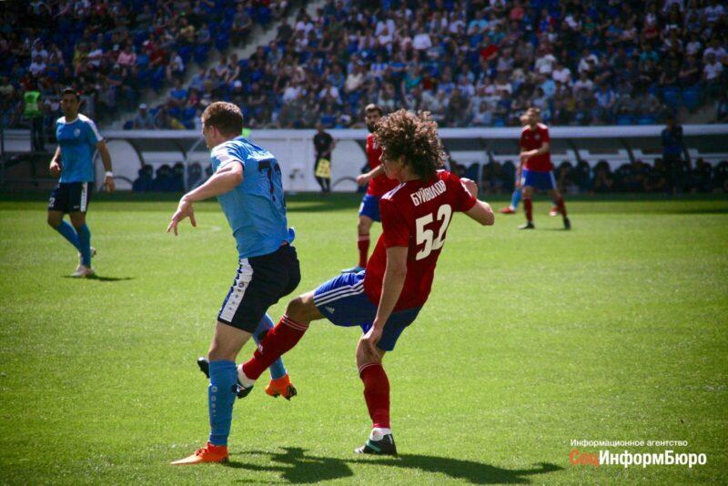 «Ротор» сыграл вничью со «СКА-Хабаровском» в домашнем матче