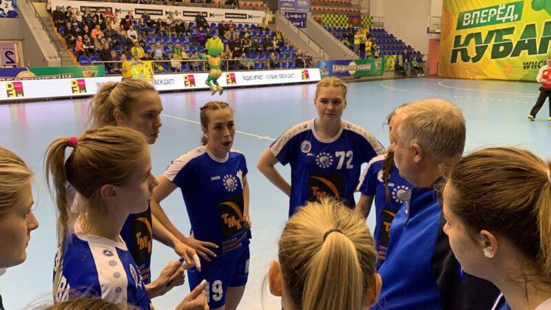 Гандболистки «Динамо-Синара» уступили во втором четвертьфинальном матче