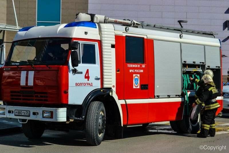 В Волгограде МЧС проведет автопробег пожарной техники