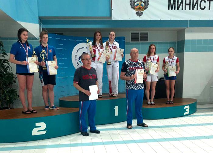 Волгоградка Ульяна Клюева взяла две медали на юниорском первенстве страны