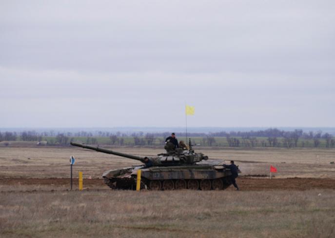 Военные в Волгоградской области закончили соревнования в трёх состязаниях