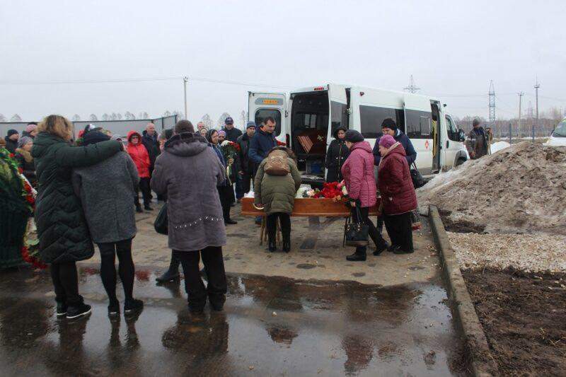 В Рязани вынесли гроб к администрации города
