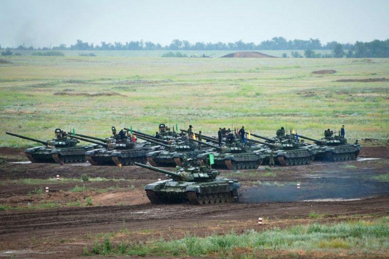 На полигоне «Прудбой» стартуют «Танковый биатлон» и «Суворовский натиск»