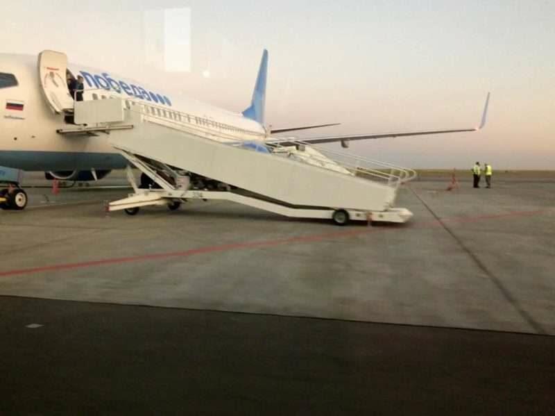 В Волгограде вынужденно сел очередной самолет «Победы»