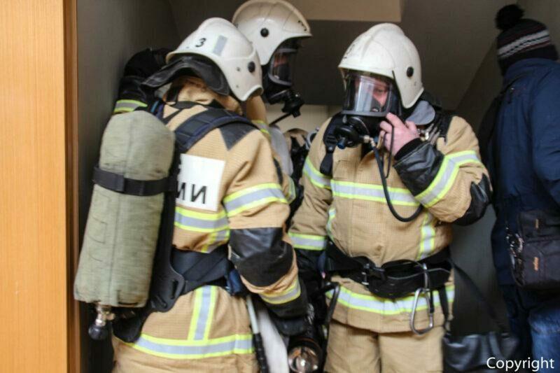 В станице Етеревская в пожаре пострадал человек