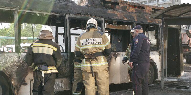 ЛиАЗ проверит сгоревший волгоградский автобус