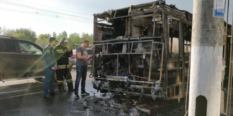 Сгоревший в Кировском районе автобус мог иметь неисправности в топливной системе