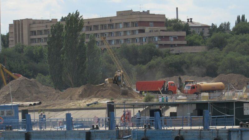 Строить берегоукрепление в центре Волгограда будет крупная ярославская компания
