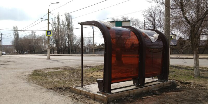 В четырёх районах Волгограда появятся новые остановочные павильоны