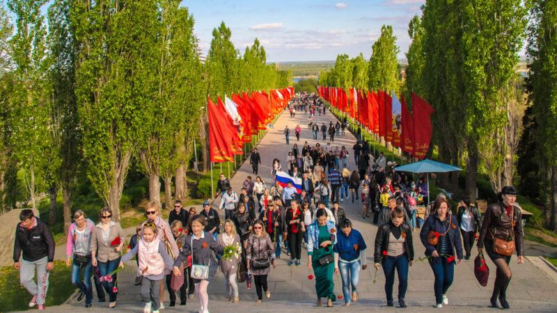 Центр Волгограда на 9 мая частично станет пешеходным