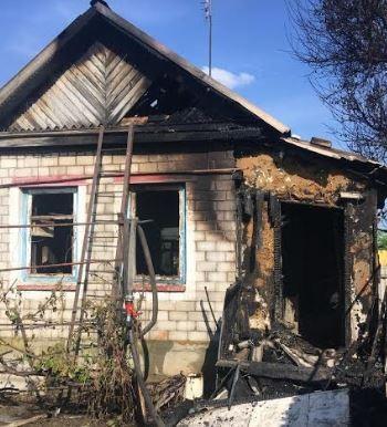 В Городищенском районе в пожаре погибли супруги