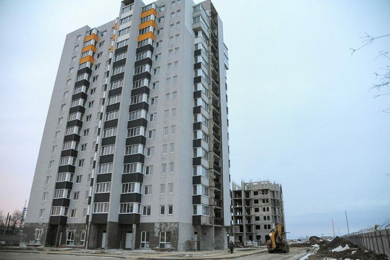 В Волжском достроили первый дом ЖК «АхтубаСитиПарк»