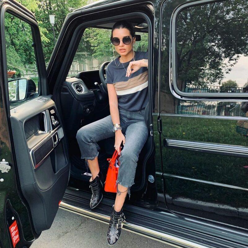 Ксения Бородина похвасталась сумочкой за 500 000 рублей