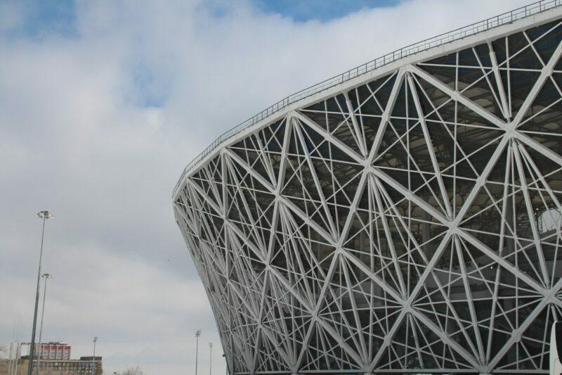 «Бояться нечего»: в Волгограде тестируют подсветку стадиона