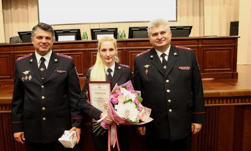 Лучшая в России сотрудница подразделения по вопросам миграции служит в полиции Волгоградской области