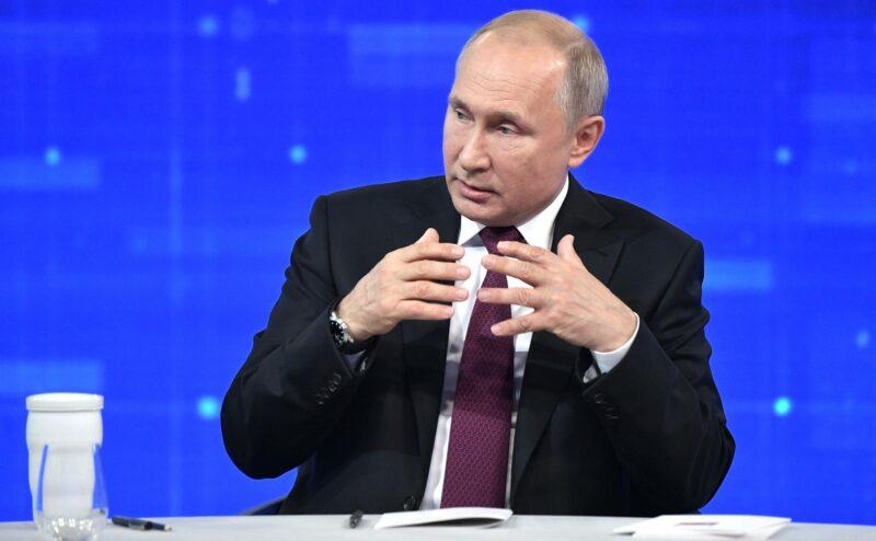 Путин заверил, что он не инопланетянин