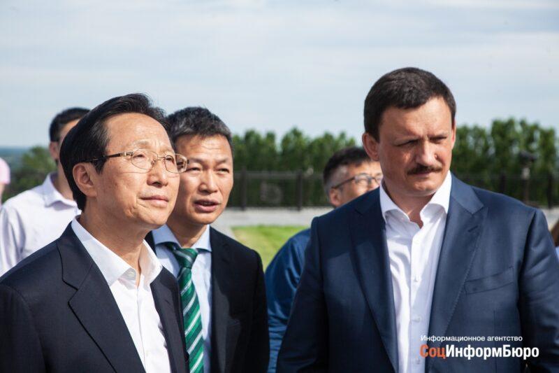 В Волгограде побывала делегация из КНР
