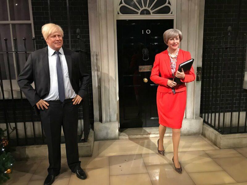 Премьер-министр Тереза Мэй отправилась в запасники