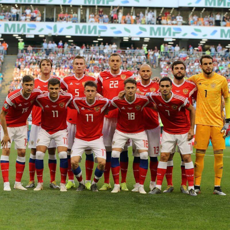 Сборная России одержала самую крупную победу в своей истории -9:0