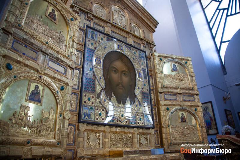 Икона Спас Нерукотворный прибыла в Волгоград