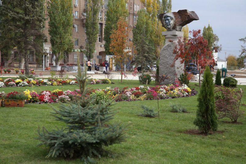 В сквере А.С.Пушкина волгоградцы отметят 220-й день рождения поэта