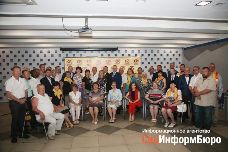 Волгоградские справедливороссы скрыли от журналистов своего кандидата в губернаторы