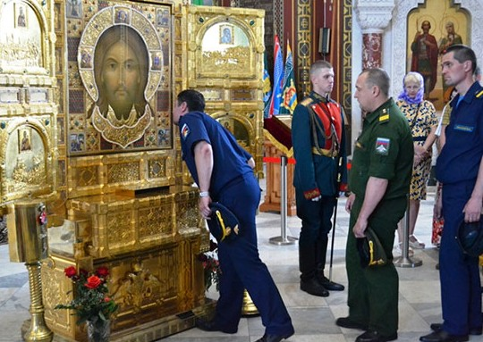 В Волгоград привезут икону Спаса Нерукотворного