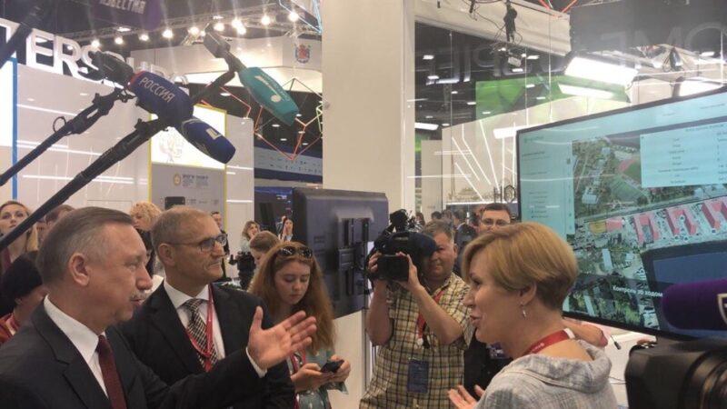 МегаФон и Санкт-Петербург представили «Цифрового двойника города»